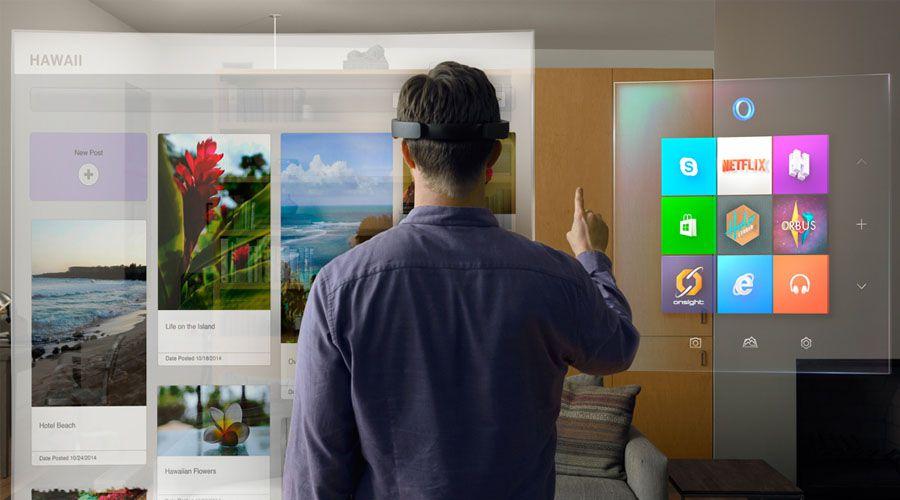 Microsoft'un fütüristik teknolojisi: HoloLens