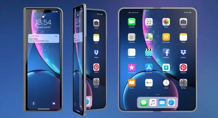 Photo of Katlanabilir iPhone, ekranında yeni bir teknoloji ile geliyor!