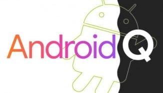 Android Q beta sürümü