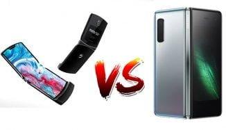 Galaxy Fold ve Motorola Razr