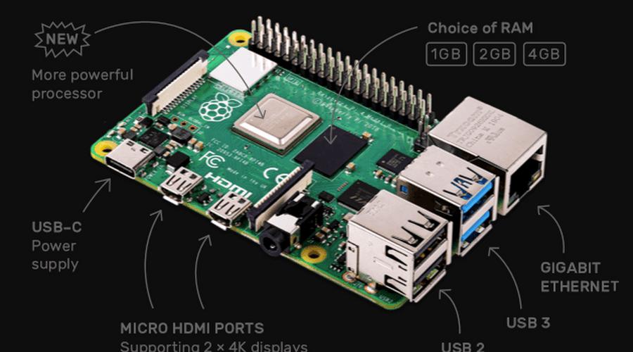 Photo of Raspberry Pi 4 anakartı, yeni özellikler