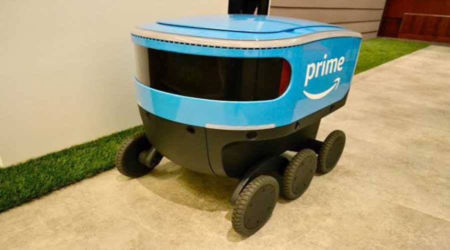 Amazon teslim robotları