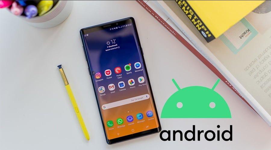 Photo of Galaxy Note 9 için Android 10 yolda