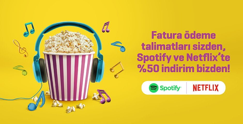 Photo of EnPara Spotify, Netflix, YouTube aboneliklerinde %50 iade kampanyası