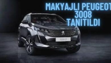 Photo of Makyajlı Peugeot 3008 Tanıtıldı; İşte Özellikleri
